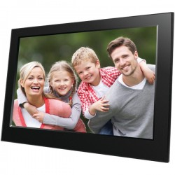 Naxa - NF-900 - Naxa 9 Digital Photo Frame - 9 LED Digital Frame - Black - 800 x 480 - Cable - JPEG - Slideshow, Clock, Calendar - USB