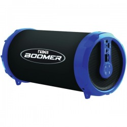 Naxa - NAS-3071 BLUE - Naxa(R) NAS-3071 BLUE BOOMER Portable Bluetooth(R) Speaker (Blue)