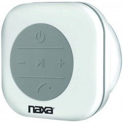 Naxa - NAS-3078 - Naxa(R) NAS-3078 Waterproof Bluetooth(R) Shower Speaker