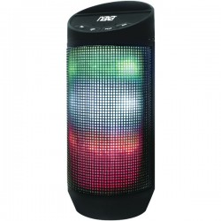 Naxa - NAS-3080 - Naxa(R) NAS-3080 Bluetooth(R) Speaker with LED Lighting Effects