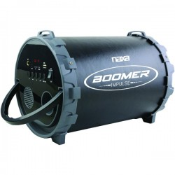 Naxa - NAS-3085 - Naxa(R) NAS-3085 BOOMER IMPULSE PA Bluetooth(R) Boom Box with LED Lights