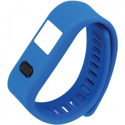 Naxa - NSW-13 BLUE - Naxa(R) NSW-13 BLUE LifeForce+ Fitness Watch for iPhone(R) & Android(TM) (Blue)