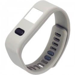 Naxa - NSW-13 GREY - Naxa(R) NSW-13 GREY LifeForce+ Fitness Watch for iPhone(R) & Android(TM) (Gray)