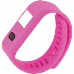 Naxa - NSW-13 PINK - Naxa(R) NSW-13 PINK LifeForce+ Fitness Watch for iPhone(R) & Android(TM) (Pink)