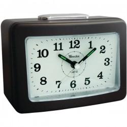 Westclox - 47550 - WESTCLOX 47550 Quartz No-Tick Loud-Bell Analog Alarm Clock