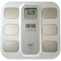 Omron - HBF-400 - Omron HBF-400 Fat Anlyzer with Scale - 4 Person Memory - LCD