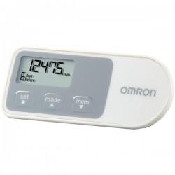 Omron - HJ-320 - Omron HJ-320 Pedometer - 99999 Step(s) - White