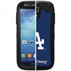 OtterBox - 77-36392 - OTTERBOX 77-36392 Samsung(R) Galaxy S(R) 4 Defender Series(R) Case with Belt Clip Holster, Major League Baseball (LA Dodgers(R))
