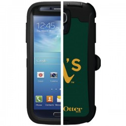 OtterBox - 77-36394 - OTTERBOX 77-36394 Samsung(R) Galaxy S(R) 4 Defender Series(R) Case with Belt Clip Holster, Major League Baseball (Oakland As(R))