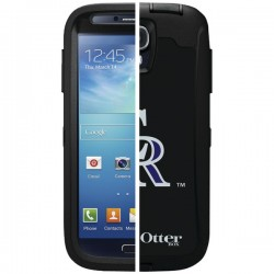 OtterBox - 77-36396 - OTTERBOX 77-36396 Samsung(R) Galaxy S(R) 4 Defender Series(R) Case with Belt Clip Holster, Major League Baseball (Colorado Rockies(R))