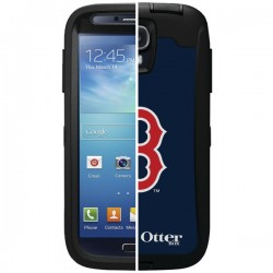 OtterBox - 77-36398 - OTTERBOX 77-36398 Samsung(R) Galaxy S(R) 4 Defender Series(R) Case with Belt Clip Holster, Major League Baseball (Boston Red Sox(R))