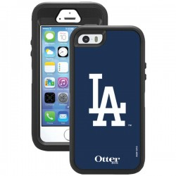 OtterBox - 77-36402 - OTTERBOX 77-36402 iPhone(R) 5/5s Defender Series(R) Case with Belt Clip Holster (Los Angeles Dodgers(R))