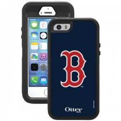 OtterBox - 77-36408 - OTTERBOX 77-36408 iPhone(R) 5/5s Defender Series(R) Case with Belt Clip Holster (Boston Red Sox(R))