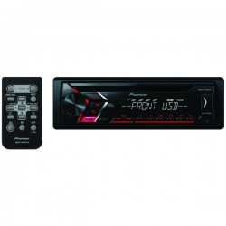 Pioneer - DEH-S1000UB - Pioneer(R) DEH-S1000UB Single-DIN In-Dash CD Receiver