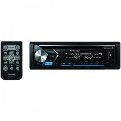 Pioneer - DEH-S4000BT - Pioneer(R) DEH-S4000BT Single-DIN In-Dash CD Receiver with Bluetooth(R)