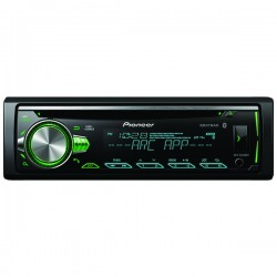 Pioneer - DEH-S5000BT - Pioneer(R) DEH-S5000BT Single-DIN In-Dash CD Receiver with Bluetooth(R) & Illuminated Rotary Knob