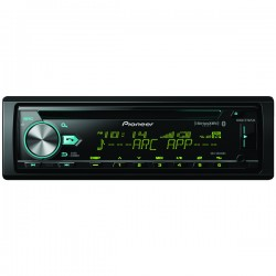 Pioneer - DEH-S6000BS - Pioneer(R) DEH-S6000BS Single-DIN In-Dash CD Receiver with Bluetooth(R) & SiriusXM(R) Ready