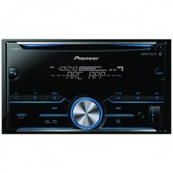 Pioneer - FH-S500BT - Pioneer(R) FH-S500BT Double-DIN In-Dash CD Receiver with Bluetooth(R)