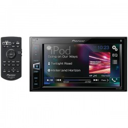 Pioneer - MVH-AV290BT - Pioneer(R) MVH-AV290BT 6.2 Double-DIN In-Dash Digital Media A/V Receiver with Bluetooth(R)