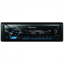 Pioneer - MVH-S300BT - Pioneer(R) MVH-S300BT Single-DIN In-Dash Digital Media Receiver with Bluetooth(R)