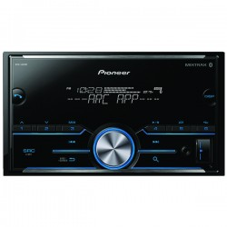 Pioneer - MVH-S400BT - Pioneer(R) MVH-S400BT Double-DIN In-Dash Digital Media Receiver with Bluetooth(R)