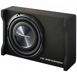Pioneer - TSSWX2502 - Pioneer TS-SWX2502 400 W RMS - 1200 W PMPO Woofer - Black - 20 Hz to 125 Hz - 4 Ohm - 93 dB Sensitivity - Vehicle Mount
