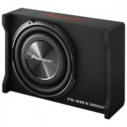 Pioneer - TS-SWX3002 - Pioneer(R) TS-SWX3002 12 Preloaded Subwoofer Enclosure Loaded with TS-SW3002S4