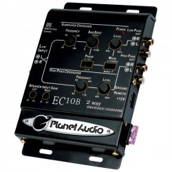 Planet Audio - EC10B - Planet Audio(R) EC10B 2-Way Electronic Crossover