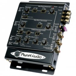 Planet Audio - EC20B - Planet Audio(R) EC20B 3-Way Electronic Crossover
