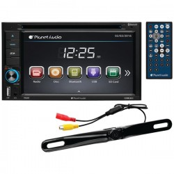 Planet Audio - P9628BRC - Planet Audio P9628brc Double Din 6.2 Inch Dvd Player 320watt