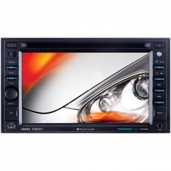Planet Audio - P9640B - Planet Audio P9640B Double-Din 6.2 inch Touchscreen DVD Player Receiver, Bluetooth, Wireless Remote - Plays   CD R/RW, DVD R/RW, MP4/MP3/DVD/CD/USB/SD