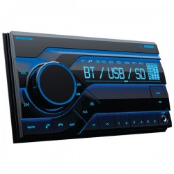 Planet Audio - PB455RGB - Digital Media AM/FM Receiver MP3-compatible Bluetooth 60w X 4 Channels
