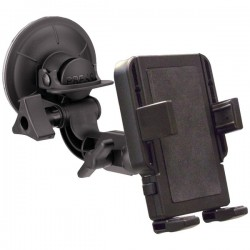 PanaVise - 15508 - PanaVise PortaGrip 15508 Vehicle Mount for Smartphone, iPhone - 2.3 to 3.8 Screen Support - Foam