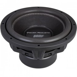 Power Acoustik - BAMF 152 - Power Acoustik BAMF-152 Woofer - 1900 W RMS - 3800 W PMPO - 2 Ohm - 84 dB Sensitivity - Automobile