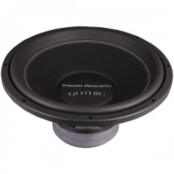 Power Acoustik - GW3-15 - Power Acoustik GW3-15 Woofer - 1400 W RMS - 3000 W PMPO - 2 Ohm - 84 dB Sensitivity - 15 Woofer