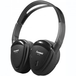 Power Acoustik - HP-12S - Power Acoustik HP-12s Headphone - Stereo - Black - Wireless - Infrared - 100 ft - Over-the-head - Binaural - Supra-aural