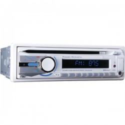 Power Acoustik - MCD 41B - Power Acoustik MCD-41B Marine CD/MP3 Player - Single DIN - CD-RW - MP3, CD-DA, WMA - AM, FM - Bluetooth - USB - Auxiliary Input - Detachable Front Panel