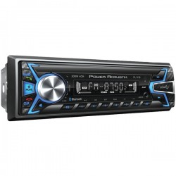 Power Acoustik - PL-51B - Power Acoustik(R) PL-51B Single-DIN In-Dash Digital Audio Receiver (Bluetooth(R), Detachable Face)