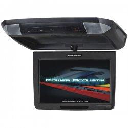 Power Acoustik - PT-110CM - Power Acoustik PT-110CM 11.2 Active Matrix TFT LCD Car Display - Black - 16:9 - 800 x 480 - IR Transmitter - Roof-mountable