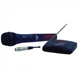 Pyle / Pyle-Pro - PDWM-100 - Pyle PylePro PDWM100 Wireless/Wired Microphone - 100Hz to 10kHz - Wireless, Cable