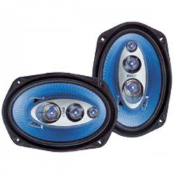 "Pyle / Pyle-Pro - PL6984BL - Pyle Blue Label PL6984BL Speaker - 200 W RMS - 400 W PMPO - 4-way - 2 Pack - 4 Ohm - 6"" x 9"" - Automobile"