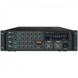 Pyle / Pyle-Pro - PMXAKB2000 - PylePro PMXAKB2000 A/V Receiver - 2 Channel - 0.5% THD - 20 Hz to 20 kHz - Bluetooth - USB