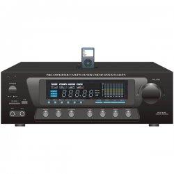 Pyle / Pyle-Pro - PT270AIU - PyleHome PT270AIU AM/FM Receiver - 300 W RMS - 2 Channel - Black - 600 W PMPO - AM, FM - USB - iPod Supported