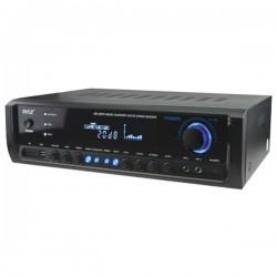 Pyle / Pyle-Pro - PT390BTU - PyleHome PT390BTU AM/FM Receiver - 4 Channel - Black - 20 Hz to 20 kHz - AM, FM - Bluetooth - USB