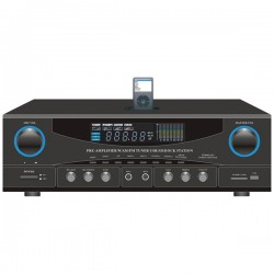 Pyle / Pyle-Pro - PT4601AIU - PyleHome PT4601AIU AM/FM Receiver - 400 W RMS - 2 Channel - 800 W PMPO - AM, FM - USB - iPod Supported