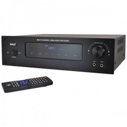 Pyle / Pyle-Pro - PT592A - PyleHome PT592A 3D A/V Receiver - 300 W RMS - 5.1 Channel - AM, FM - Bluetooth - HDMI - 4 x HDMI In - 1 x HDMI Out - iPod Supported