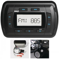 Pyle / Pyle-Pro - PATVR10 - Pyle(R) PATVR10 Marine Dash-Panel Mechless Receiver with Bluetooth(R)