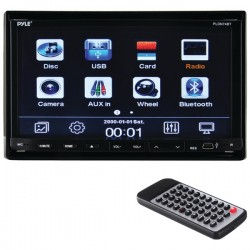 Pyle / Pyle-Pro - PLDN74BT - Pyle(R) PLDN74BT 7 Double-DIN In-Dash LCD Motorized Slide-down Touchscreen DVD Receiver with Bluetooth(R)