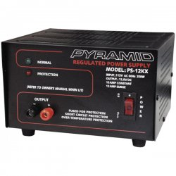 Pyramid Car Audio - ps12kx - PYRAMID Gold PS-12KX DC Power Supply