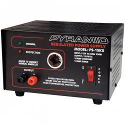 Pyramid Car Audio - PS15KX - PYRAMID PS-15KX AC Power Supply - 250W